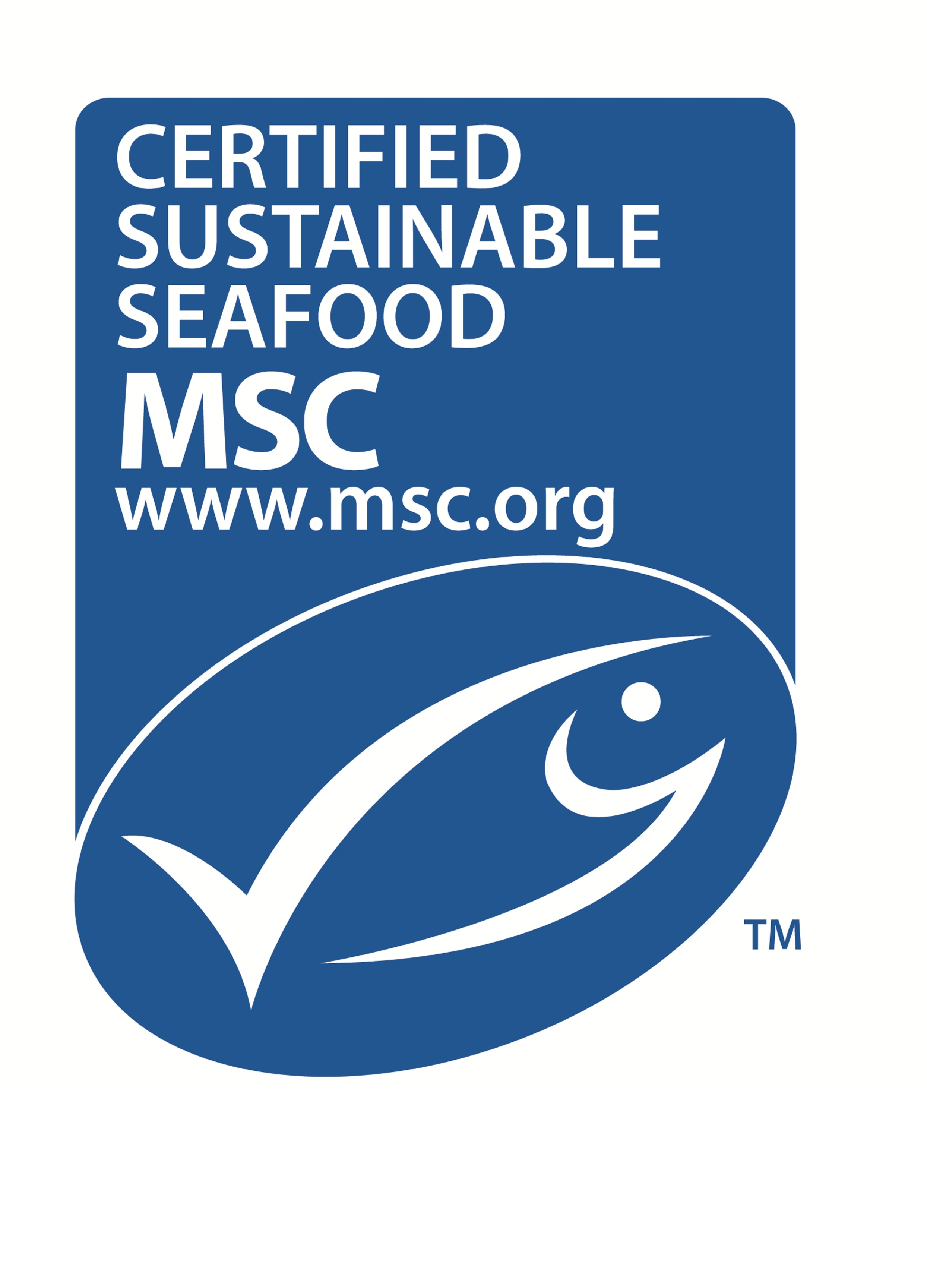 MSC certified fresh seafood